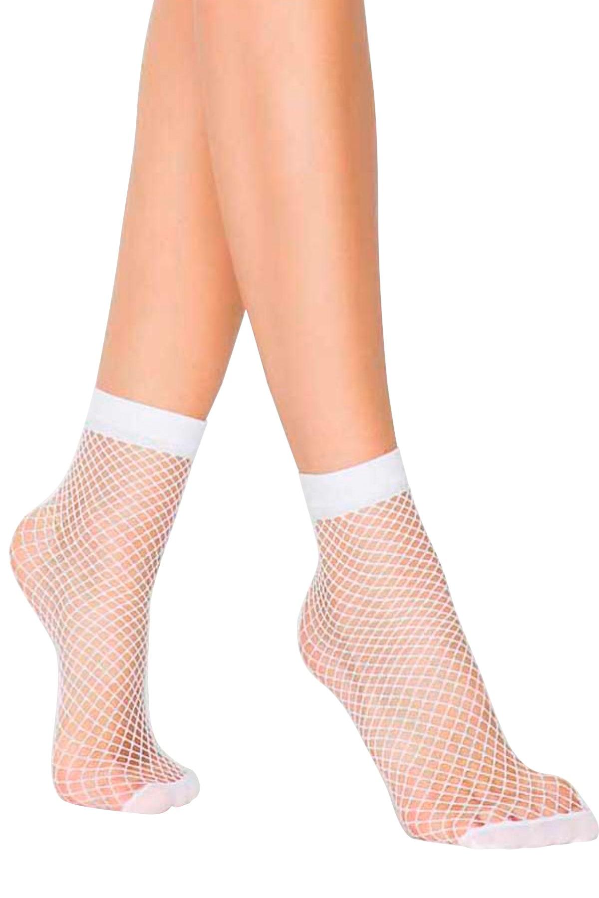 MiteLove Mite Love İri File Soket Çorap 8 Renk
