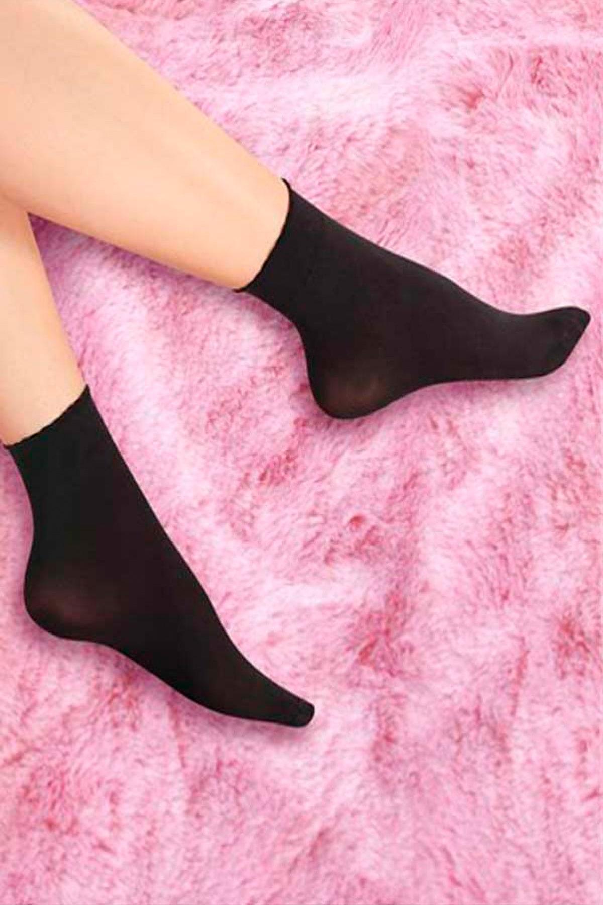 MiteLove Mite Love 40 Denye Soket Çorap Siyah